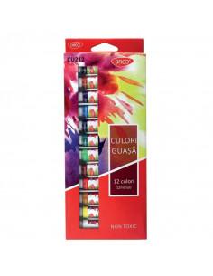 Guase Daco, 12 culori
