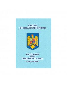 Carnet De Elev Clasele V-VIII