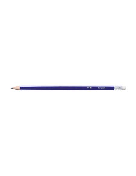 Creion Grafitmina cu Radiera lacuite Pelikan - HB