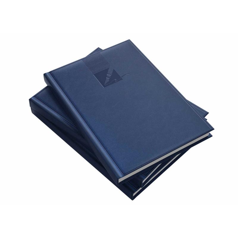Agendă A5 Nedatată, 224 File, Albastru