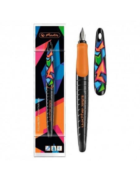 Stilou My.Pen Penita M Motiv Neon Art - Blister Herlitz