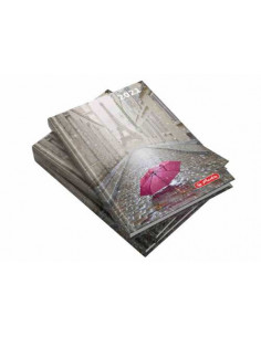 Agenda Datata A5 2021, 352 Pagini + 16 Pagini Zentangle, Motiv Paris Herlitz