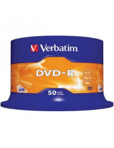 Set 50 DVD-uri Printabile DVD-R Verbatim, 4.7 GB, 16x