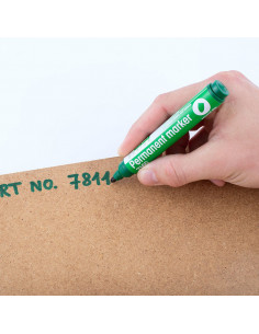 Marker Permanent 2160 D.Rect - Verde
