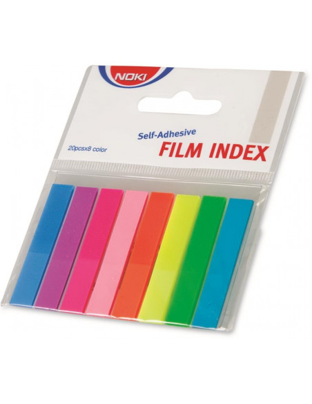 Index Adeziv Plastic 8 X 45 Mm 8 Culori Noki
