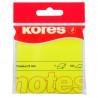 Notes Adeziv, Galebn Neon, 75 X 75 Mm, 100 File, Kores