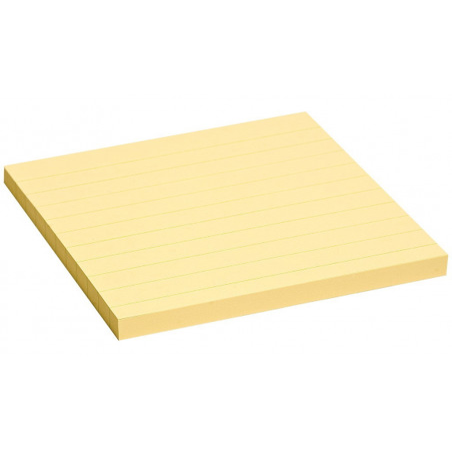 Notes Adeziv Yellow Liniat 125 X 75 Mm 100 File