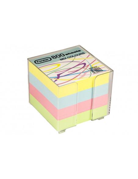 Cub Hartie Color 90 X 90 Mm 800 File