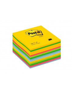 Cub Notes Adezive Post-It 3M Briliant 76 X 76 Mm 450 File