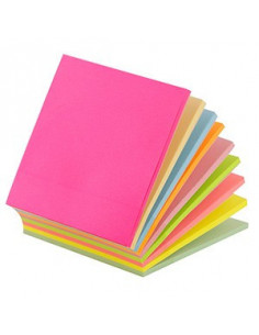 Notes Adeziv D.Rect 110516 75X75Mm 225F - 9 Culori Neon