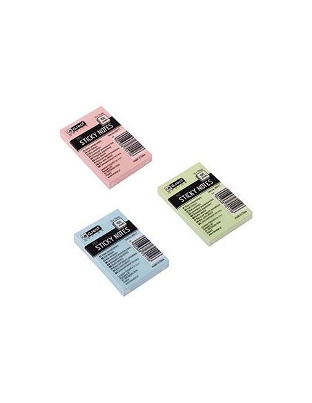 Notes Adeziv D.Rect 51X75Mm 100F - Culori Pastel