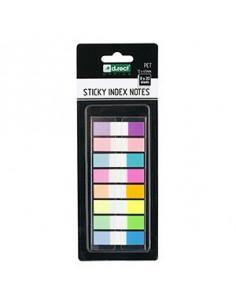 Stick Index Adeziv D.Rect 12X45Mm / 8X20F / Culori Neon