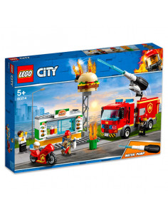 Lego City: Stingerea Incendiului De La Burger Bar 60214