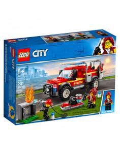 Lego City: Camionul De Intervenție Al Comandantului Pompierilor