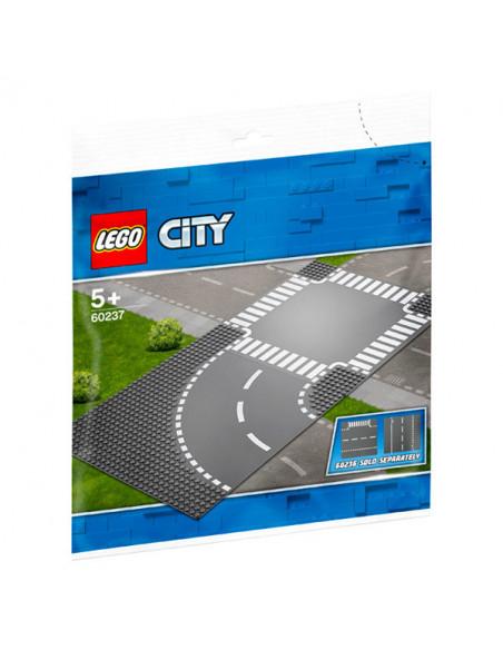 Lego City: Curbă Și Intersecție - 60237