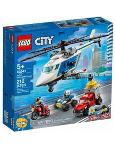 Lego City: Urmărire Cu Elicopterul Poliției 60243