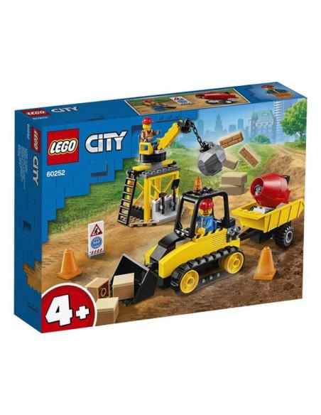 Lego City: Buldozer Pentru Construcții 60252