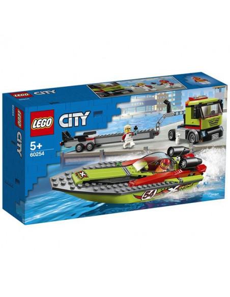 Lego City: Transportorul Bărcilor De Curse 60254