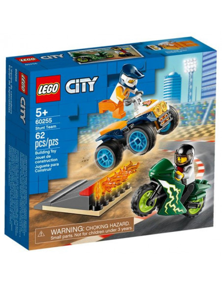 Lego City: Echipă De Cascadori 60255