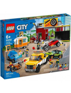 Lego City: Atelier De Tuning 60258