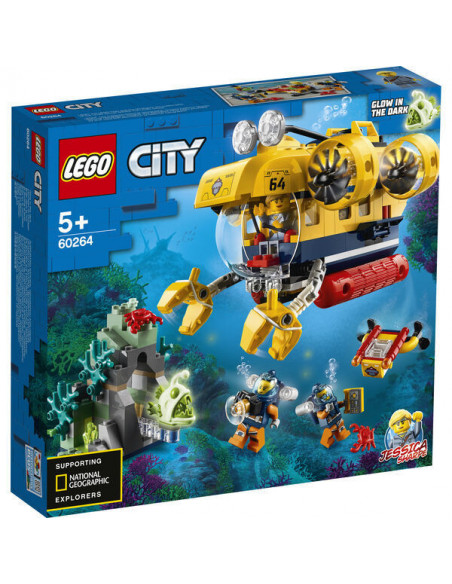 Lego City: Submarin De Explorare A Oceanului 60264