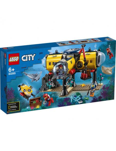 Lego City: Bază De Explorare A Oceanului 60265