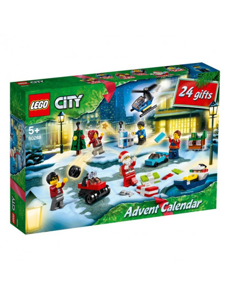 Lego City Town: Calendar De Crăciun 60268