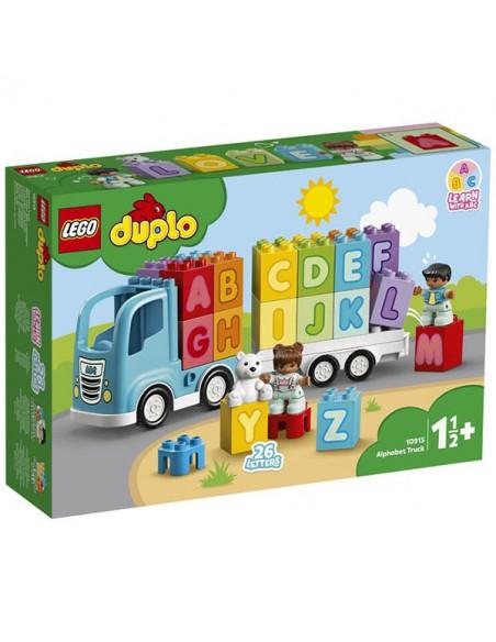 Lego Duplo: Primul Meu Camion Cu Litere 10915