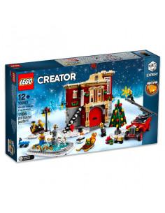 Lego Creator: Staţia De Pompieri Din Satul De Iarnă 10263