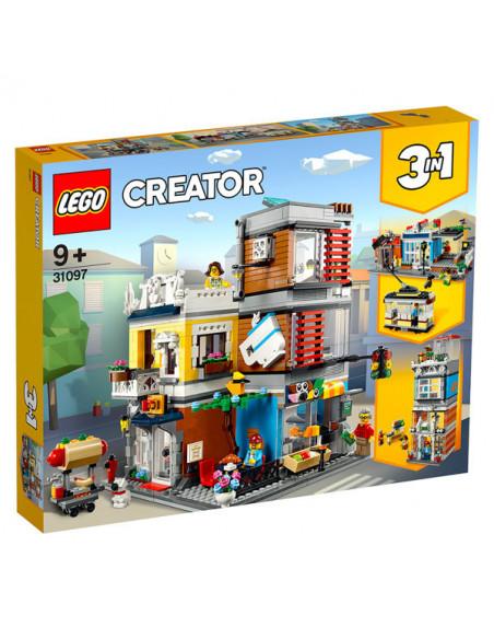 Lego Creator: Magazin De Animale Şi Cafenea - 31097