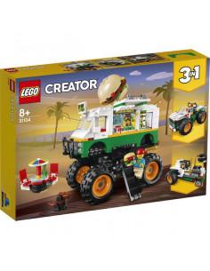 Lego Creator: Camion Gigant Cu Burger 31104