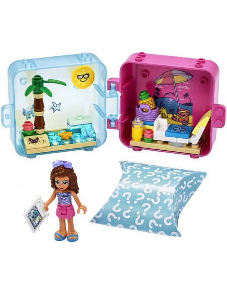 Lego Friends: Cubul Jucăuș De Vară Al Oliviei 41412