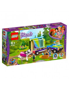 Lego Friends: Remorca De Transport Cai A Miei - 41371