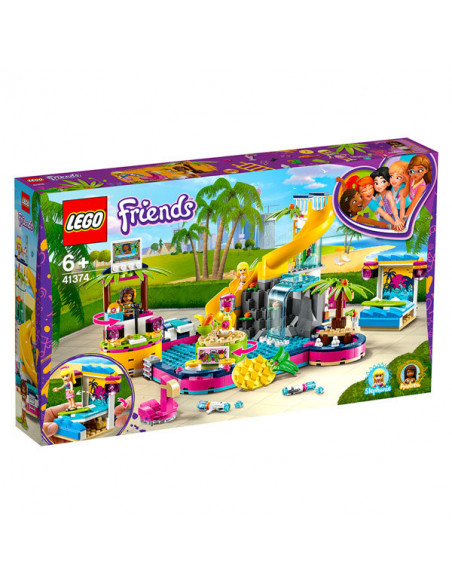 Lego Friends: Petrecerea La Piscină A Andreei - 41374