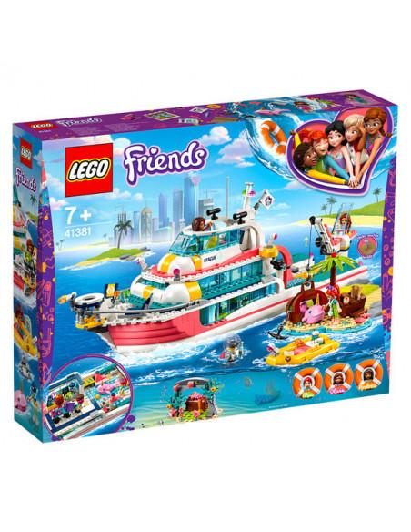 Lego Friends: Barcă Pentru Misiuni De Salvare - 41381