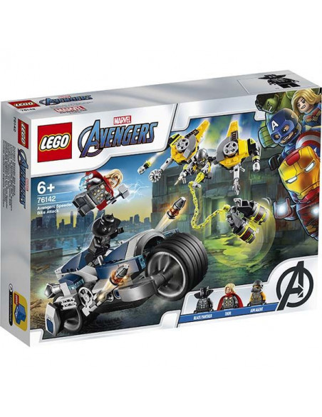 Lego Marvel Super Heroes 76142