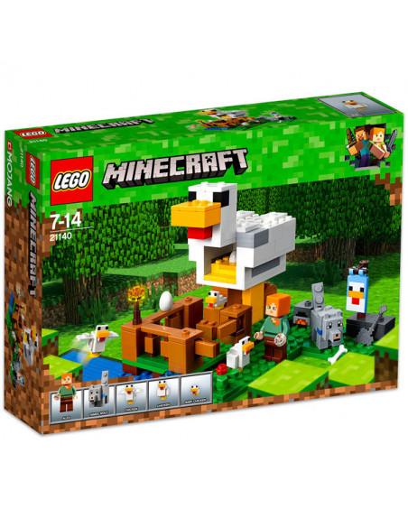 Lego Minecraft: Cotețul De Găini 21140