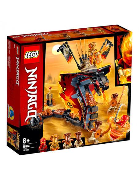Lego Ninjago: Gheară De Foc - 70674