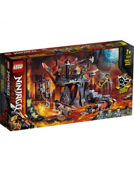 Lego Ninjago: Călătorie Către Temnițele Craniu 71717