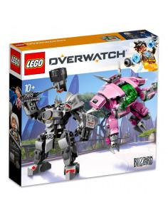 Lego Overwatch: D.Va Şi Reinhardt 75973