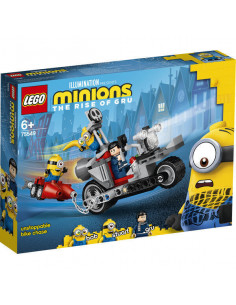 Lego Minions: Urmărire De Neoprit Cu Motocicleta 75549