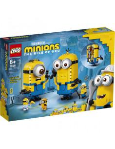 Lego Minions: Figurine Minioni Din Cărămizi 75551