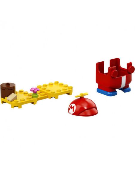 Lego Super Mario: Costum De Puteri: Mario Aeronaut 71371