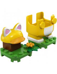 Lego Super Mario: Costum De Puteri: Mario Pisică 71372