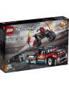 Lego Technic 42106: Camion Și Motocicletă Pentru Cascadorii