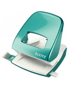 Perforator 30 Coli Model 5008 Metalizat Leitz Turquoise Metalizat