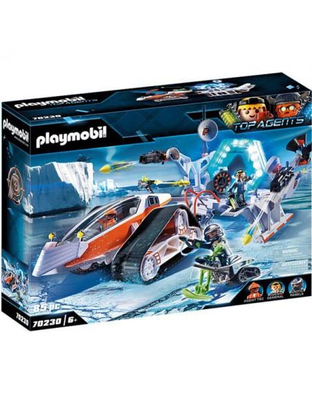 Playmobil Top Agents: Sania Comandoului Spy Team 70230