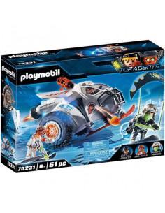 Playmobil Top Agents: Planorul de zăpadă a lui Spy Team 70231