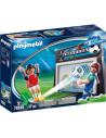 Playmobil: Poarta de fotbal cu perete țintă 70245