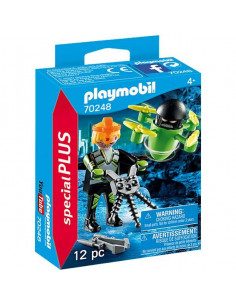 Playmobil: Agent cu dronă 70248